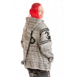 Sacred Mantra Wool Jacket