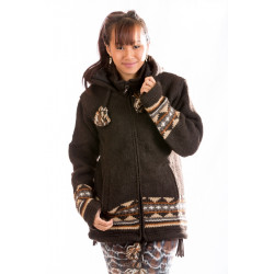 eternal-night-wolljacke-strickjacke-gefüttert-schafwolle-nepalwolljacke-nepal-schwarz-moskitoo-india-kult