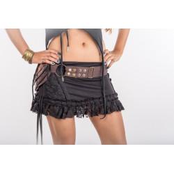Lace Leaf Hip Bag