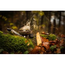 Black Brass Incense Burner