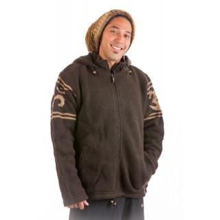 Sacred Mantra Wool Jacket