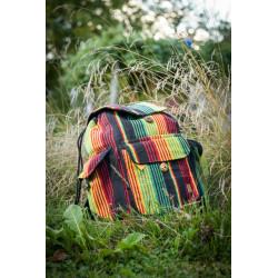 Rasta Wanderer Rucksack Backpack Nepal