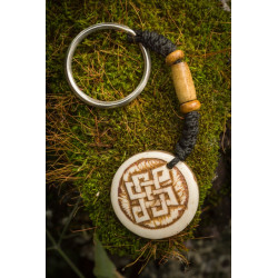 Celtic Love Knot Keyring