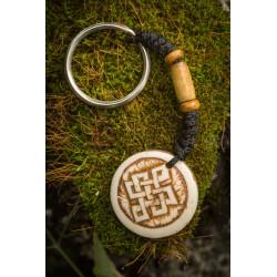 Celtic Love Knot Keyring
