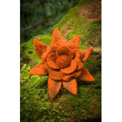 Orange Blossom Felt Hairband