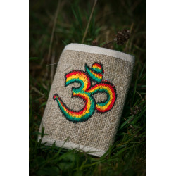 Rasta Om Hemp Wallet