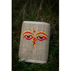 Buddha Eyes Hemp Wallet