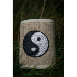 Ying Yang Hemp Wallet