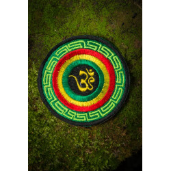Om Rasta Patch