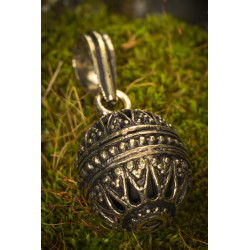 Brass Singing Bell Charm
