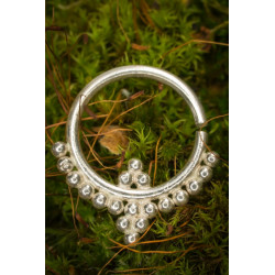 Indra Silver Septum