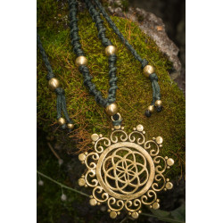 Indian Seed of Life Necklace