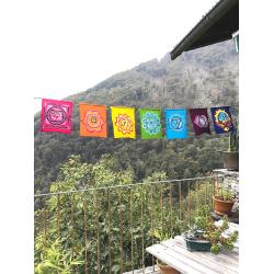 7 Chakra Energy Flag