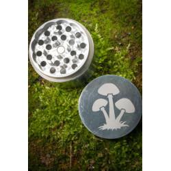 Metal Mushroom Grinder