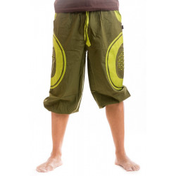 Lebensblume 3/4 Shorts