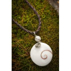 Shiva Eye Pendant Necklace Thailand Moskitoo