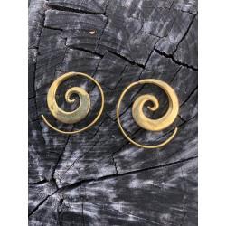 Zuri Spiral Ohrringe