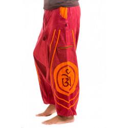 Tibet Om Stonewash Afghani Hose Rot Moskitoo India Kult