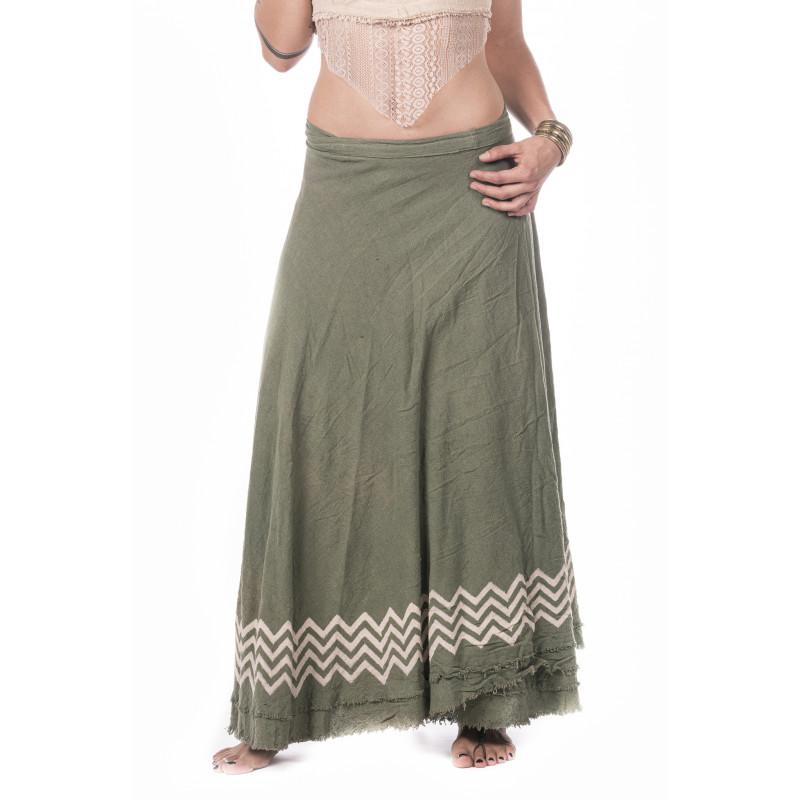 block-print-langer-rock-baumwolle-moskitoo-india-kult-green
