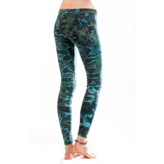 Batik Leggings Moskitoo - Hypnosis Leggings - River Light  Blue Lagoon