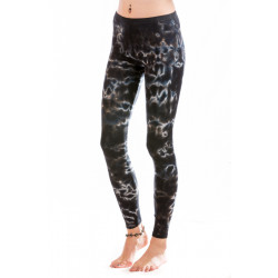 Batik-Hypnosis Leggings - Magic Smoke-Black Moon-Moskitoo-