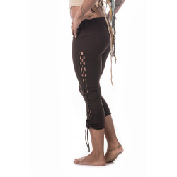 Psytrance Leggings Brown Moskitoo India Kult