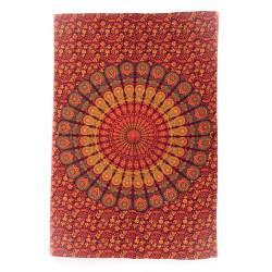"""Mandala Tuch """"Roter Pfau"""" Moskitoo India Kult"""
