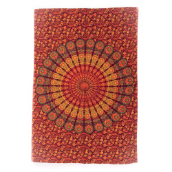 "Mandala Bedcover ""Red Peacock"" Moskitoo India Kult"