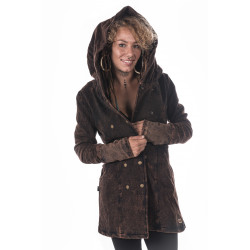 stonewash-dark-brown-jacket-Loveland-boho-hippie-gypsy-floweroflife--fair-trade-Moskitoo-india-kult