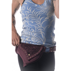 Lace Leaf Hip Bag