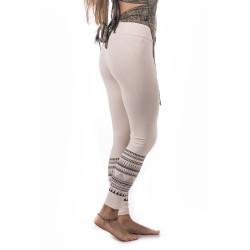 Yoga Arrow Leggings Moskitoo India Kult Organische Baumwolle Elfen Weiss