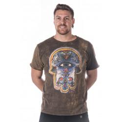 hamsa-männer-t-shirt-braun-no-time-thailand-moskitoo-india-kult