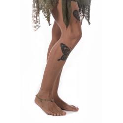 indische-Hippie-Boho-Messing Fusskette-Glöckchen-moskitoo-india-kult