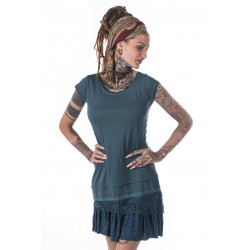 moskitoo-india-kult-dress-steampunk-turqoise-cotton