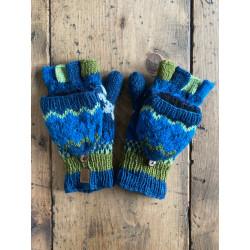 wool-gloves-knitted--sheepwool-azure-blue-unisex-gloves-no-finger-cap-moskitoo-india-kult