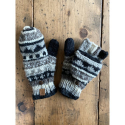 wool-gloves-knitted--sheepwool-white-black-grey-y-unisex-gloves-no-finger-cap-moskitoo-india-kult