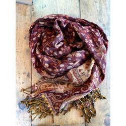 Paisley-Blanket -Shawl