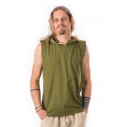 muscle-shirt-green-cotton-sleeveless-hood-moskitoo-india-kult-switzerland