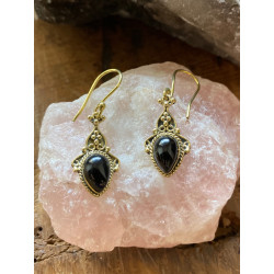 blackonyx-brass-gold-red-pink-earrings-moskitoo-india-kult-online-shop-switzerland
