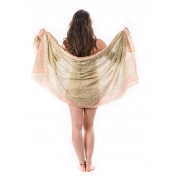 unisex-sarong-pareo-strandtuch-block-print-cotton-green-red-moskitoo-india-kult-swiss