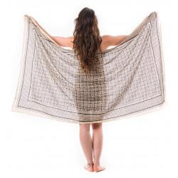 sarong-beach-towel-hairscarf-pareo-summer dress-sauna-towel-yoga-block-print-india-black-moskitoo-switzerland