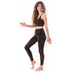 leggings-crop-top-Silence-sphere-brown-yoga-pants-natural-fiber-moskitoo-india-kult-fair-fashion-rorschach-schweiz
