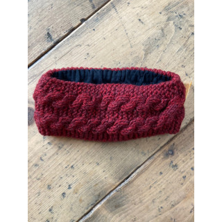 zoe-ear warmer-hair-band-wool-wool-hair-band-maroon-moskitoo-india-kult